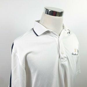 FootJoy Mens Medium Golf Polo Shirt White